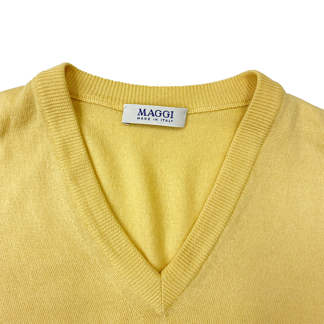 Maggi Yellow Spencer Vest