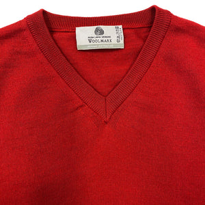 Woolmark Red Spencer