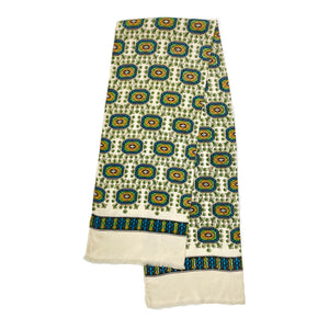 Patterned Green Scarf