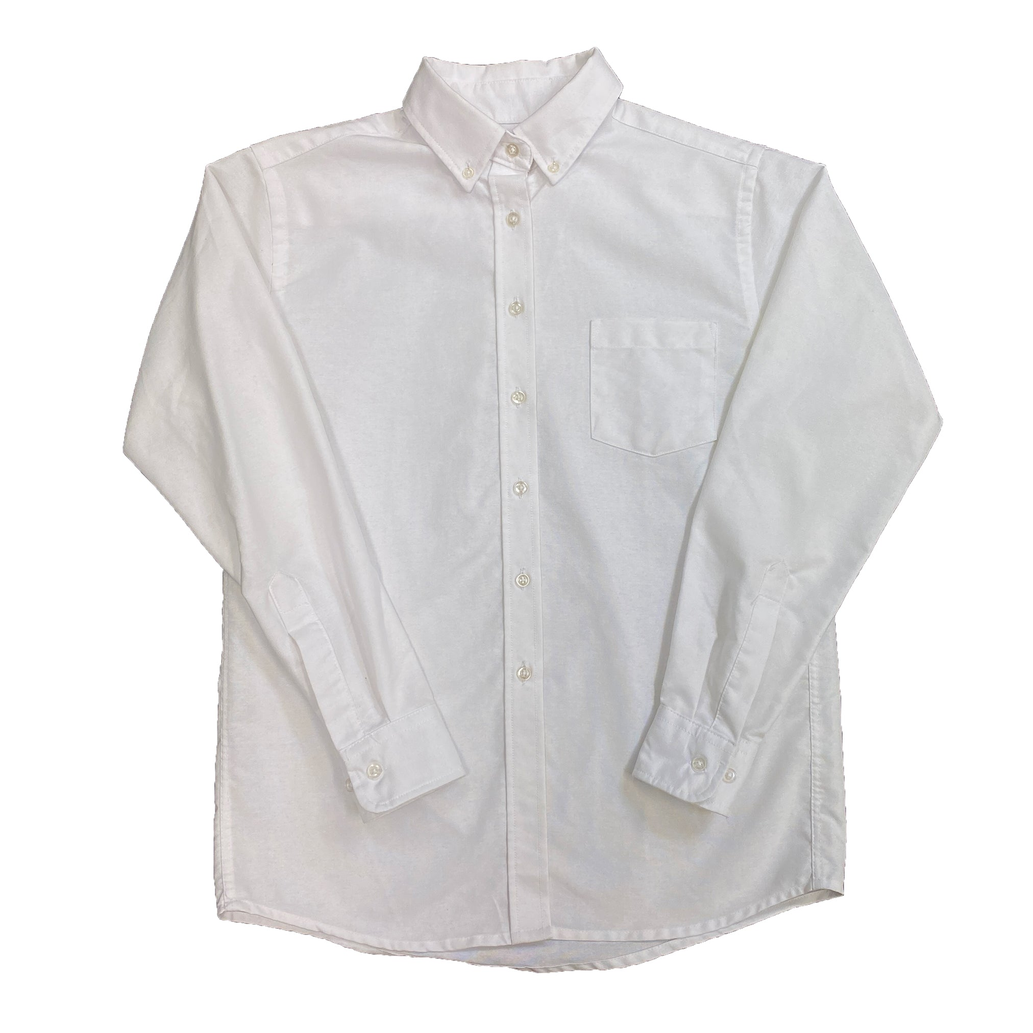 White Button-up shirt by Miss Tulane