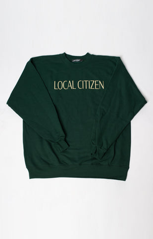 Logo Sport Crew In Collegiate Green