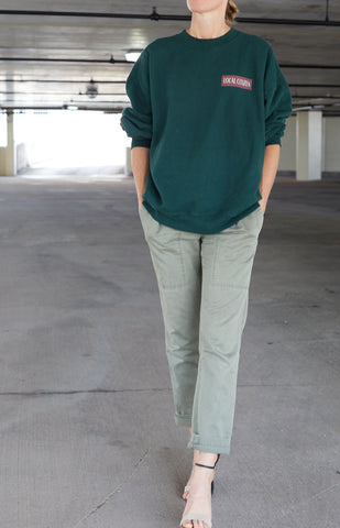 Sport Crew in Collegiate Green