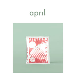 April | Ethiopia Drip Pack