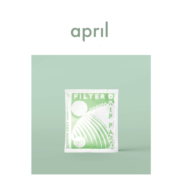 April - Ethiopia  Drip Pack