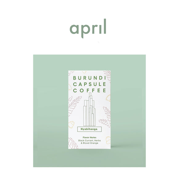April Coffee Roasters | Burundi Capsule