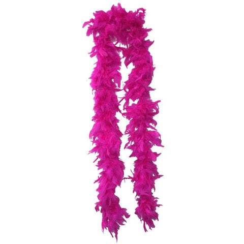 Lightweight Hot Pink Feather Boa - FeatherBoaShop.com