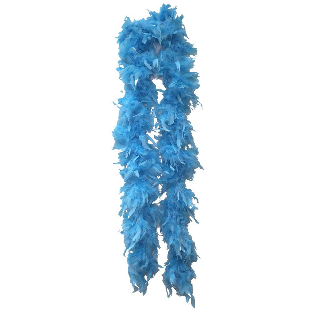Teal Feather Boa (6` 60 grams) - FeatherBoaShop.com