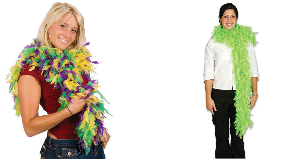 Plush Feather Boas