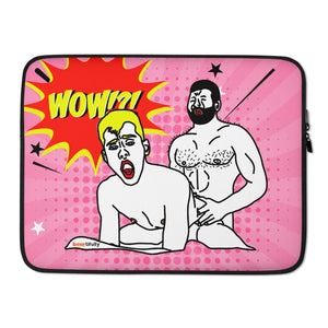 Laptop Sleeve Wow