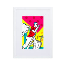 Load image into Gallery viewer, Matte Paper Framed Poster With Mat Glory