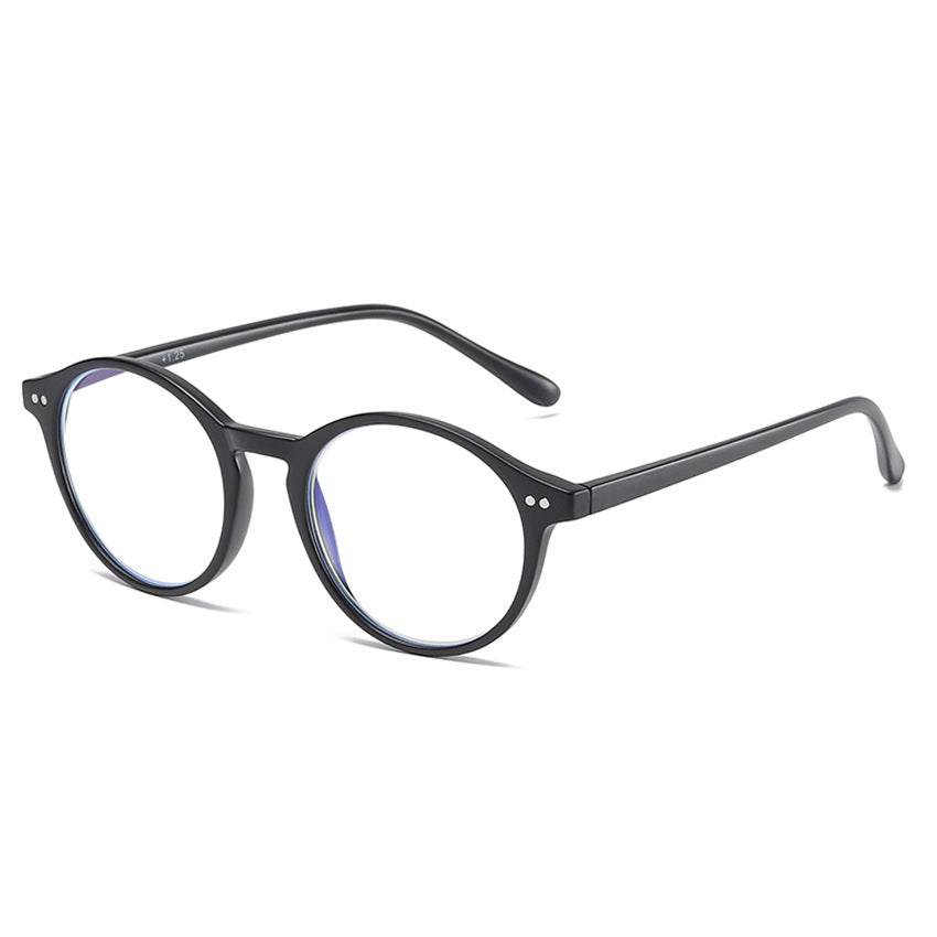 Luculent - Blue Light Retro Round Glasses