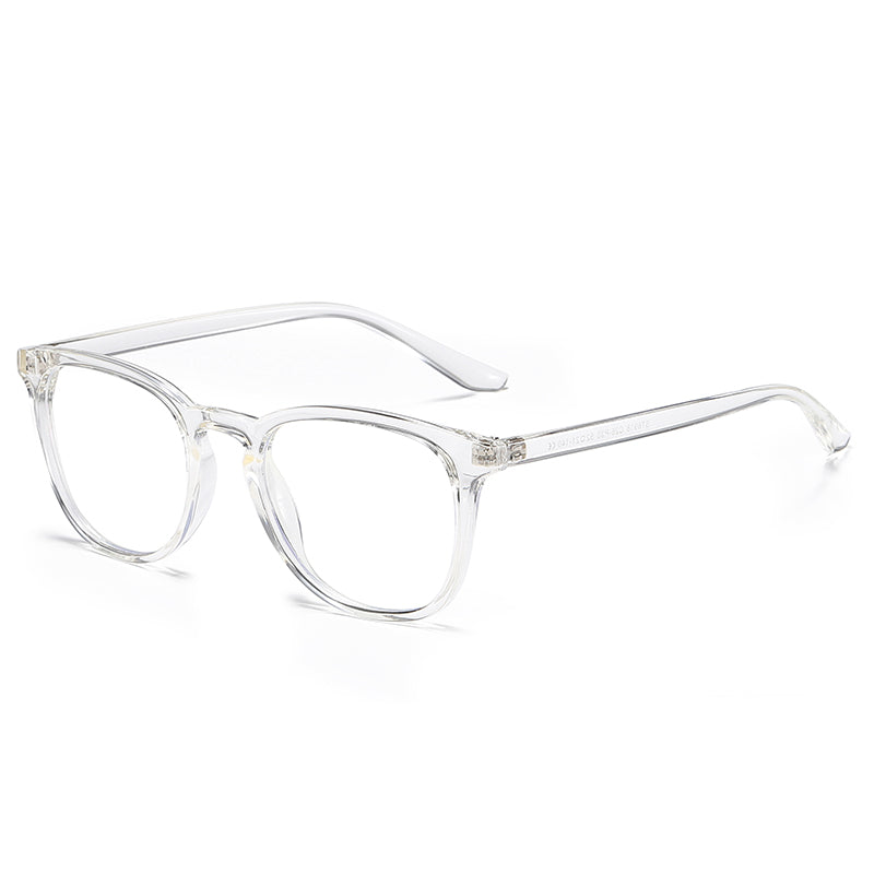 Luxe - Blue Light Retro Rectangle Glasses