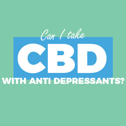 Can you take CBD Oil with antidepressants?