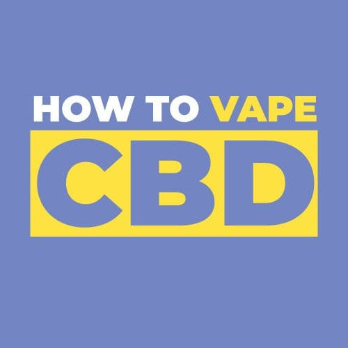 How to vape CBD e liquid?