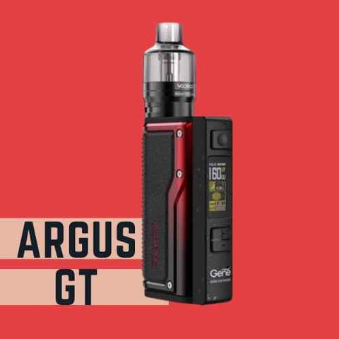 Argus GT vape kit red