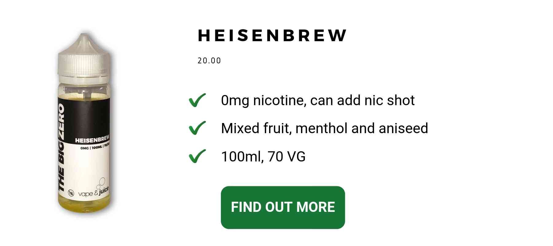 high vg menthol ejuice