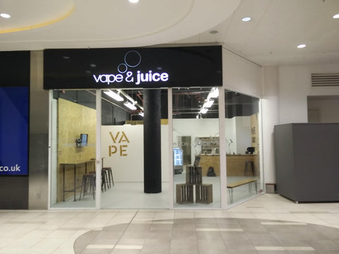 Vape shop Basildon vape and juice Essex eastgate shopping centre