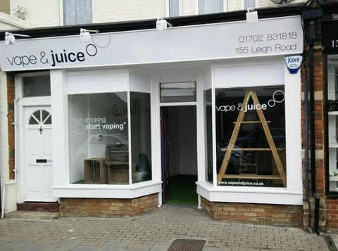 Vape and Juice Leigh On Sea Vape Ecig shop