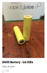 18650 battery for vaping real sale uk ecig vape shop
