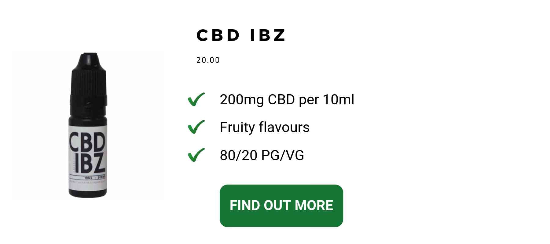 CBD Ibz Best CBD vape oil for flavour