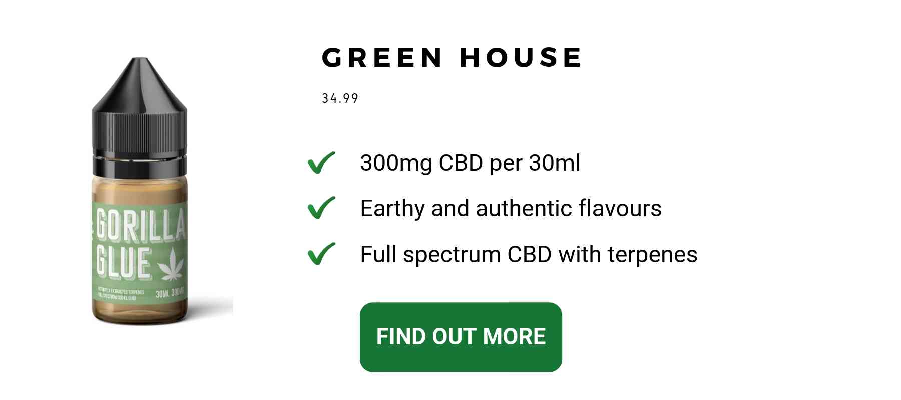 CBD vape oil UK terpenes cannabis flavour