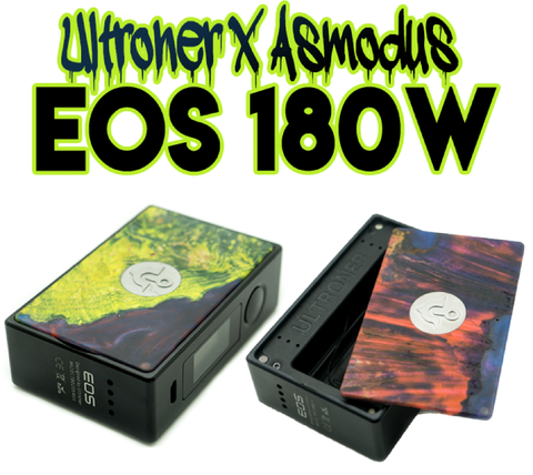 ultroner x eos 180 watt vape mod kit online review
