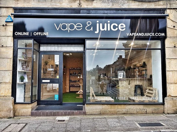 crewkerne Vape and Juice ecig shop in Taunton and close to Yeovil
