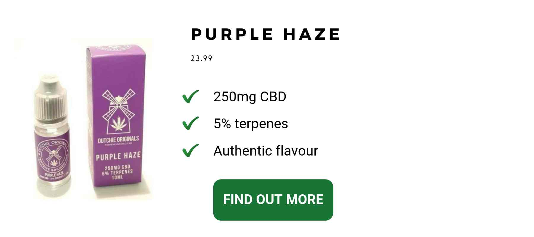 CBD flower legal Purple Haze