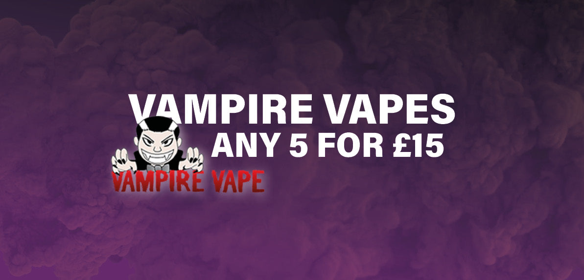 Cheap vampire vapes eliquid online