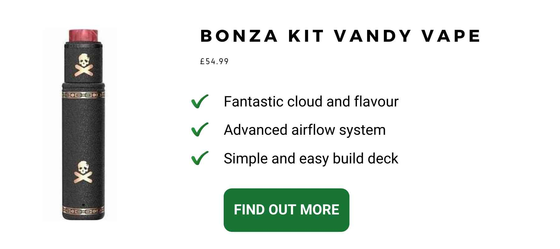 Vandy Vape Bonza Kit Vape Pen