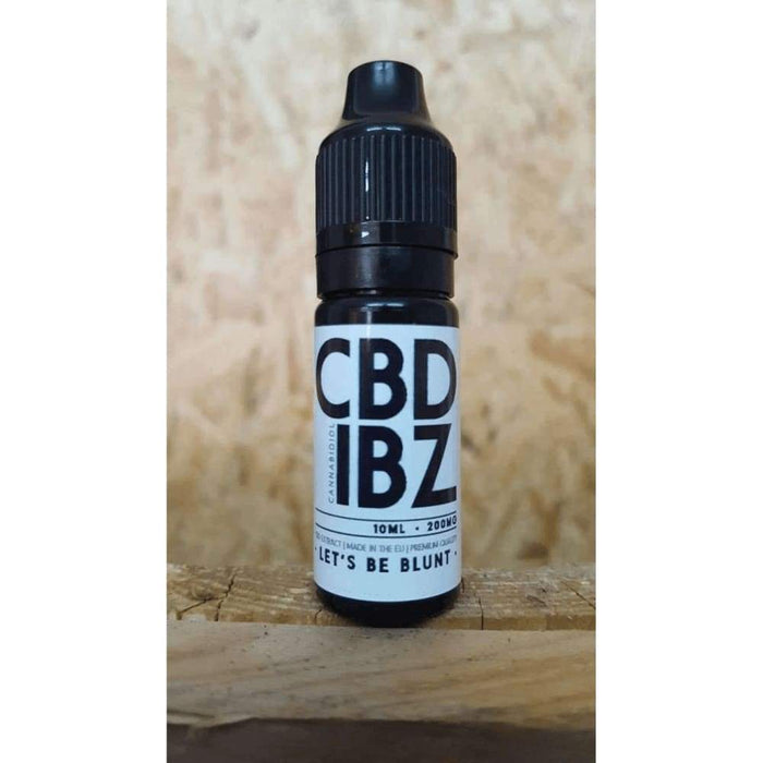 CBD IBZ - Super Doober - Apple Pie - 200mg CBD Oil Eliquid