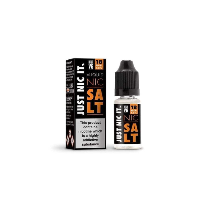 Just Nic it 20mg Salt High VG Nicotine Shot - Juice
