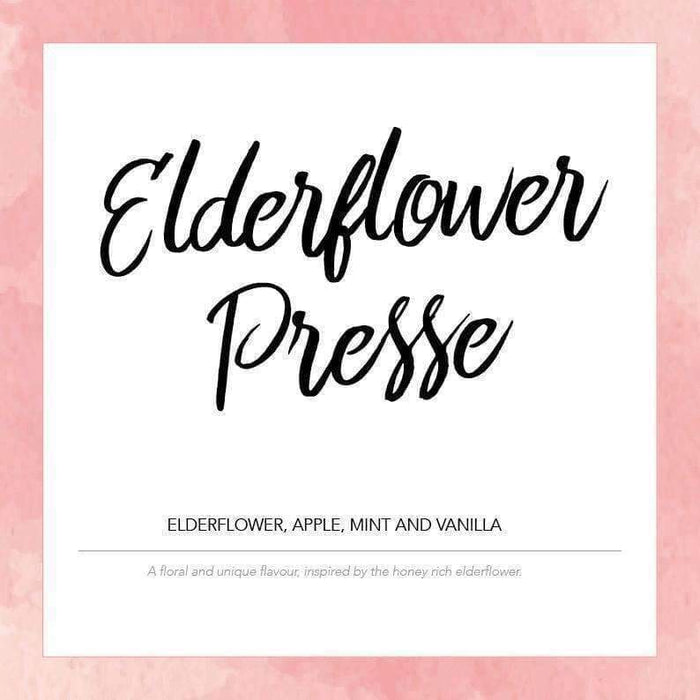 Elderflower Presse - Pink Label E-liquid 50ml - Juice