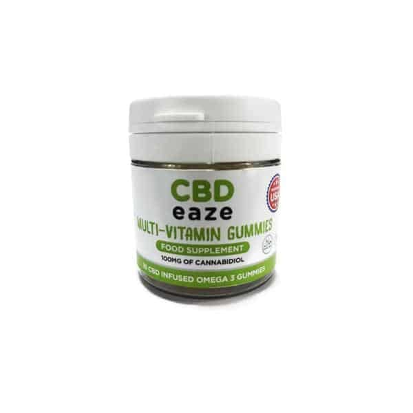 CBD Eaze Multi Vitamin 100mg CBD Gummies - CBD Gummy Bears