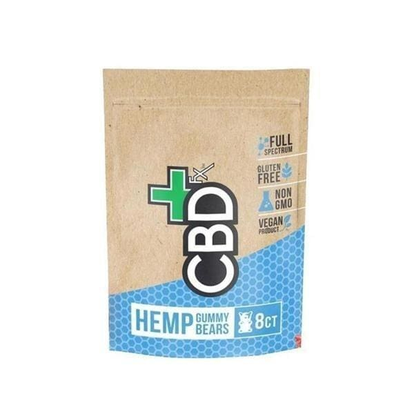CBDFX Gummies 8ct Pouch 40mg CBD - CBD Gummy Bears