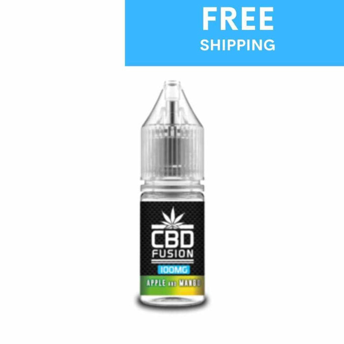 Apple and Mango CBD Fusion Eliquid | 10ml - cbd eliquid