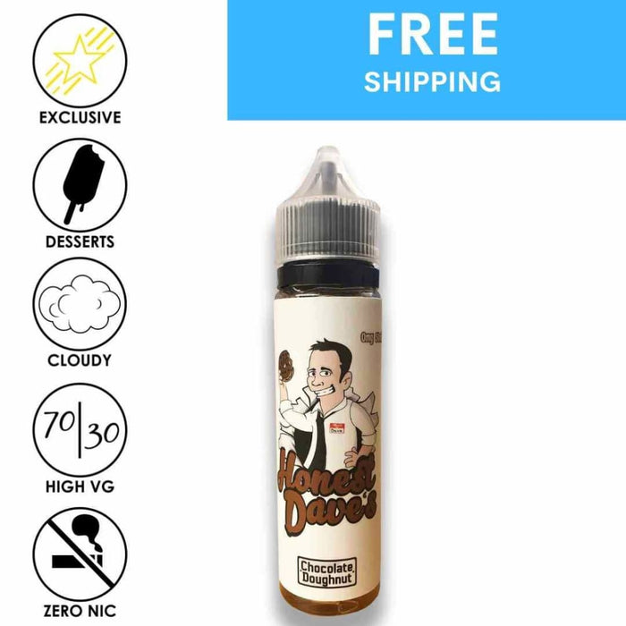 Honest Daves Classic Desserts - Choco Donut - Eliquid