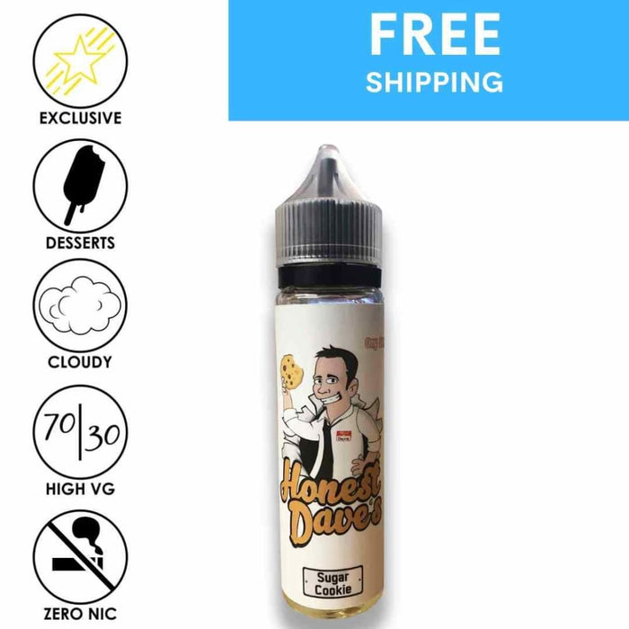 Honest Daves Classic Desserts - Sugar Cookie - Eliquid