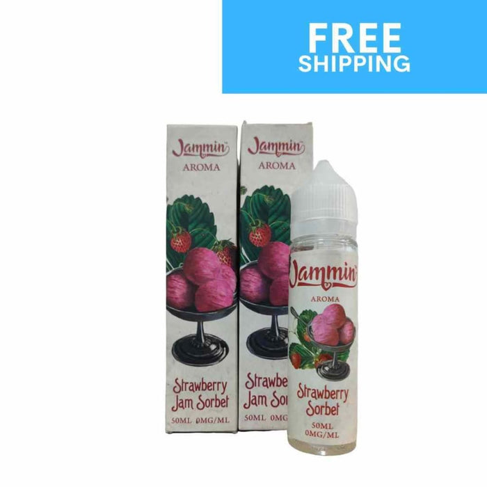 Jammin Strawberry Jam 2 Pack Deal | 2 x 50ml - Eliquid