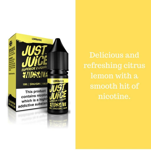 Just Juice Salts - Lemonade - Juice