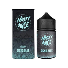 Nasty Juice - Sicko Blue 60ml 0mg shortfill