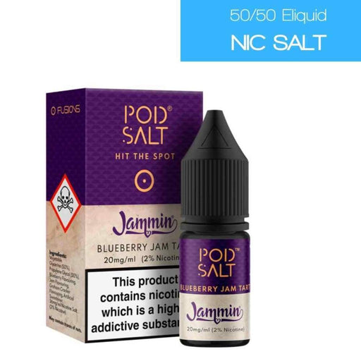 Pod Salt Fusions Jammin Blueberry - Juice