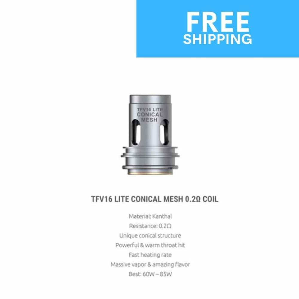 tfv16 coils conical mesh .2