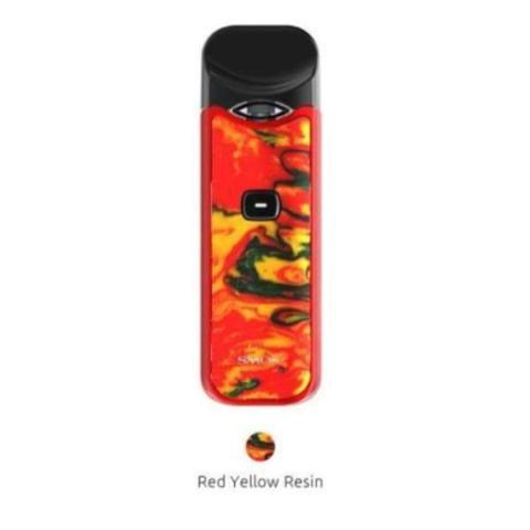 Smok Nord Pod Kit In Colour Red Yellow Resin