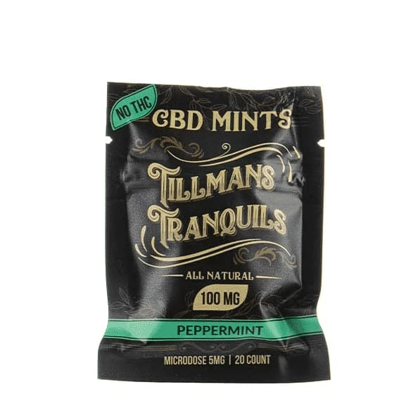 Tillmans Tranquils CBD Mints 5mg - CBD Gummy Bears