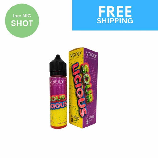 VGOD E-Juice - Sourlicious | 60ml - Eliquid