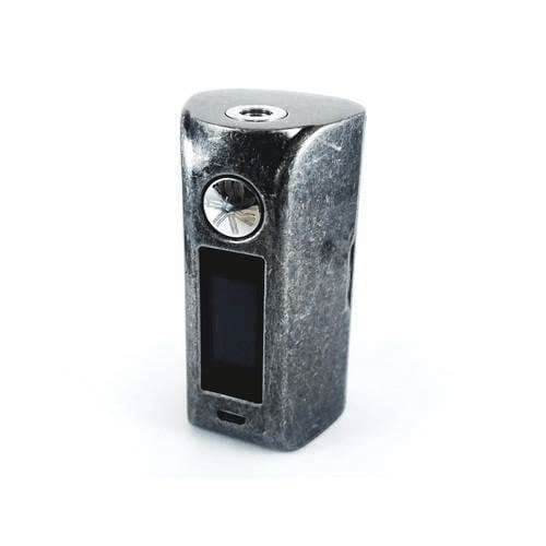 Asmodus Minikin 2 - 180w Box Mod - Silver Grit / No - Devices