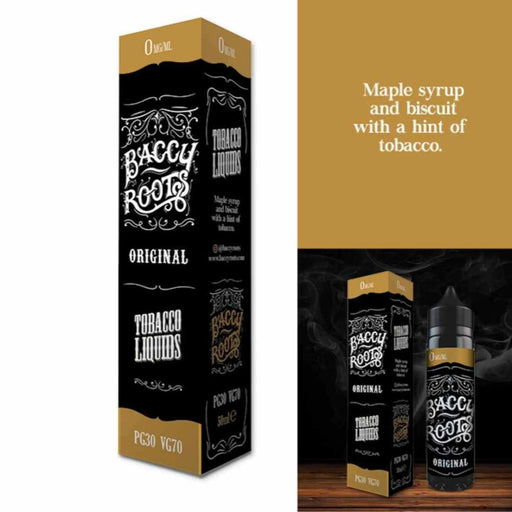 Baccy Roots Eliquid Original - Juice