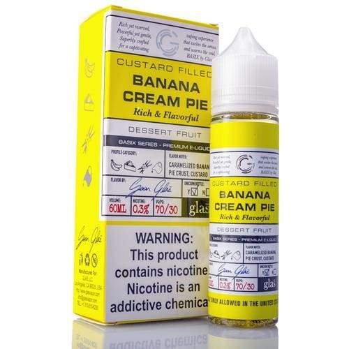 Glas Basix - Banana Cream Pie - Juice
