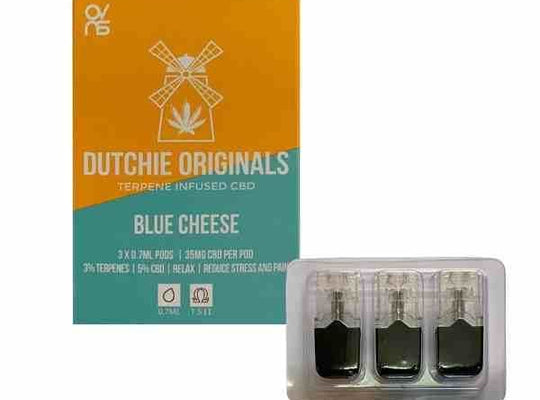 Blue Cheese CBD eliquid Pods 5% | Juul compatible - cbd eliquid